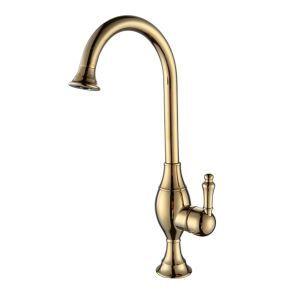 Antique Brass Titanium Kitchen Faucets (HM3018)