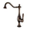 Solid Brass Kitchen Faucets Antique Sink Tap Mixer (HM3017)
