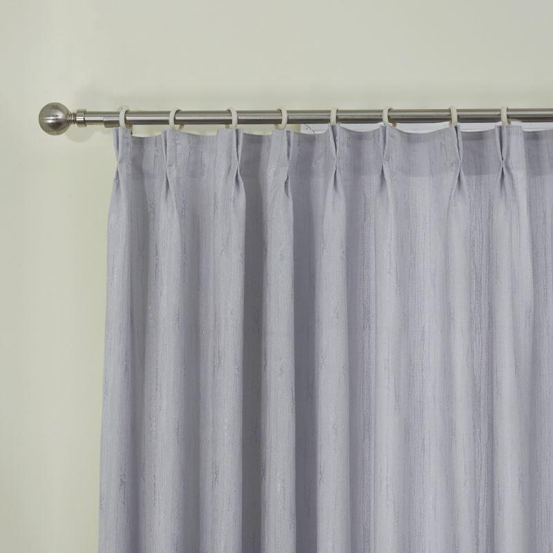 Room Darkening Curtain Custom Modern Jacquard Grey