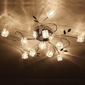 Artistic Aluminum Flush Mount Lights With 11 Light