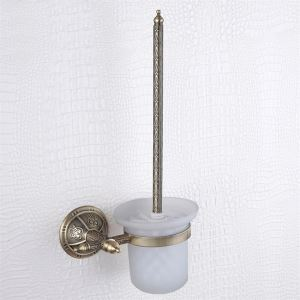 Toilet brush rack,Brass,Venetian Bronze