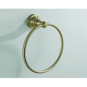 Antique Bronze Round Towel Ring