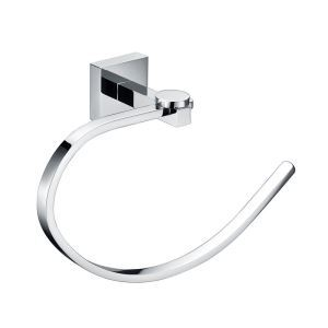 Chrome Towel Ring Modern New Bathroom Accessories Solid Brass Towel Ring