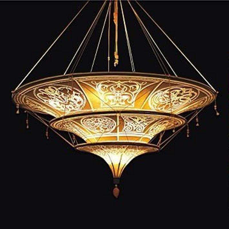 Traditional Ceilling Light 11-light Fabric Pendant Light - from $1041.99