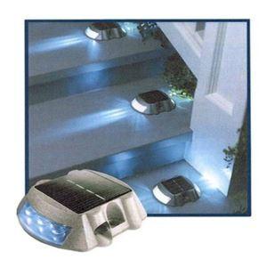 Solar Gardening lighting,solar aluminium signal lamp, solar road stud