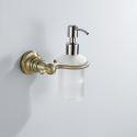 Antique Bronze Liquid Soap Dispenser Rack Wall Mounted Brass Soap Holder