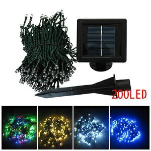22M 7 Colors 200 leds String Lights Christmas Party Decorative Lights
