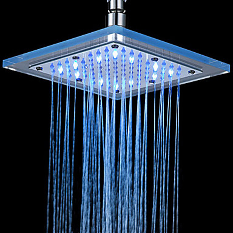 Thermostatic Led Shower Faucet Head Of 8 Inch
