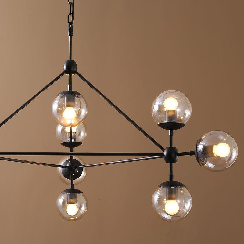 Lighting Ceiling Lights Chandeliers Simple Modern Artistic Pendant 10 Galss Shade