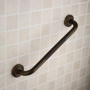 Antique European Style Brass Bath Shelf