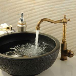 Classic Antique Brass Kitchen Faucet Bathroom Sink Tap