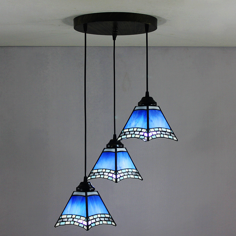 In Stock 6 Inch European Country Vintage Glass Shade