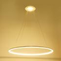 Ceiling Lights Modern LED Acrylic Pendant Light  Living LED Ring Lights 60CM(Angel's Halo)