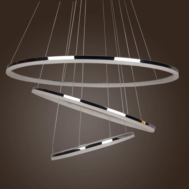 Modern Led Acrylic Pendant Light Simple Design Mini