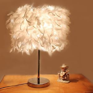 40W contemporary Table Lamp with 1 Light in Electroplated Finish