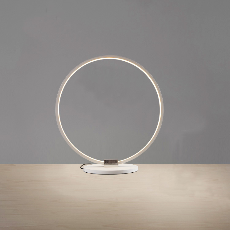 1 Light Modern Simple Fashion Led Round Acrylic Table Lamp