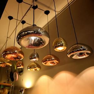 Pendant 1 Light Creative Iron Glass Coating