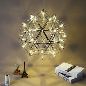 LED Ceiling Light Ball Pendant Light Modern Energy Saving 42/66 LEDs