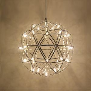 LED Ceiling Light Ball Pendant Light Modern Energy Saving 42/66 LEDs