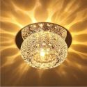 Modern Crystal Flush Mount New Style Ceiling Lamp