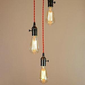 Ceiling Lights Simple Retro Edison Light Bulb Absorb Dome Light