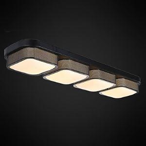 Led Ceiling Lamps 4 Light Simple Modern Artistic Energy Saving