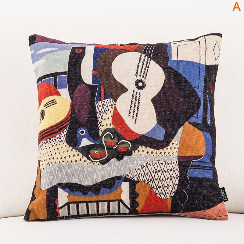 Fashion Pillow Case Picasso S Masterpiece Sofa Office
