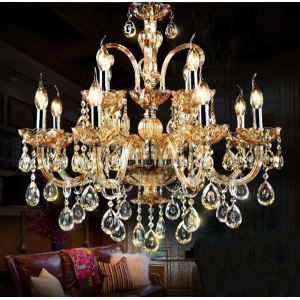 Ceiling Lights Chandeliers Crystal Modern Contemporary Traditional Classic Living Room Bedroom Dining Room Lighting Ideas Study Room Office Glass 12 Lights