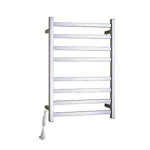 Modern Simple Silver Wall Mounted Stainless Steel Towel Warmer 80W