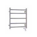 Modern Simple Silver Wall Mounted Stainless Steel Towel Warmer 45W