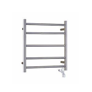 Modern Simple Silver Wall Mounted Stainless Steel Towel Warmer 45W
