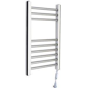 Modern Simple Silver Wall Mounted Stainless Steel Towel Warmer 75W