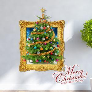 Creative Christmas 3D Christmas Tree Wall Sticker Christmas Holiday Decor Christmas Gifts