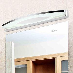 Modern Mirror Wall Light Contemporary Chrome Finish 5W 7W LED Mirror Wall Light with Acrylic Shade Energy Saving