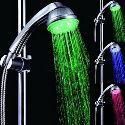 Chrome LED Rain Shower Head 1039-M4303