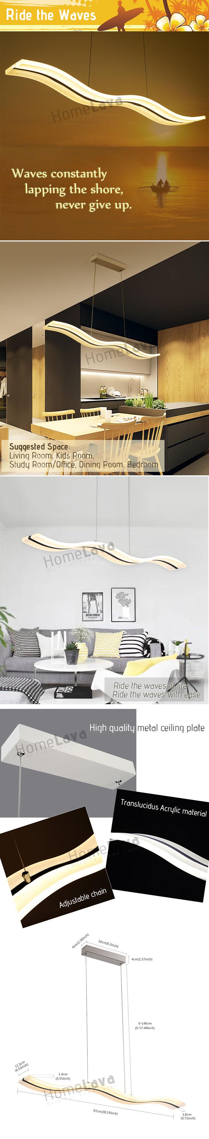 Pendant Lights LED Modern  Contemporary Living Room  Bedroom  Dining Room  Study Room  Office  Kids Room